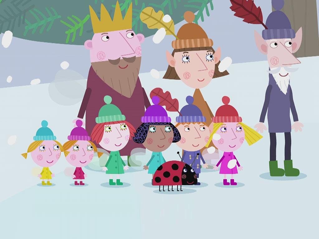 королевство Бена и Холли персонажи