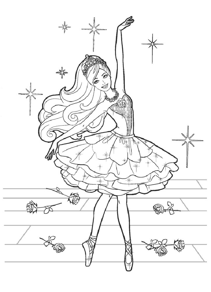 Барби балерина 8