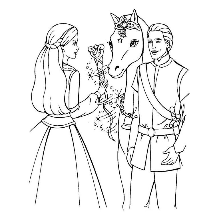Барби с лошадкой
