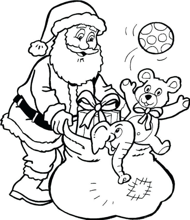 Дед Мороз с подарками 3