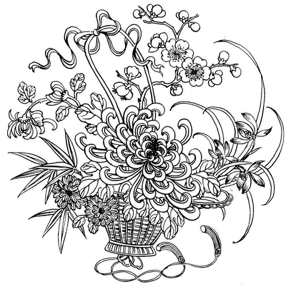 букет цветов рисунок 3