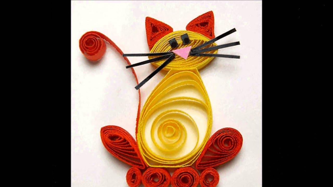 квиллинг котик