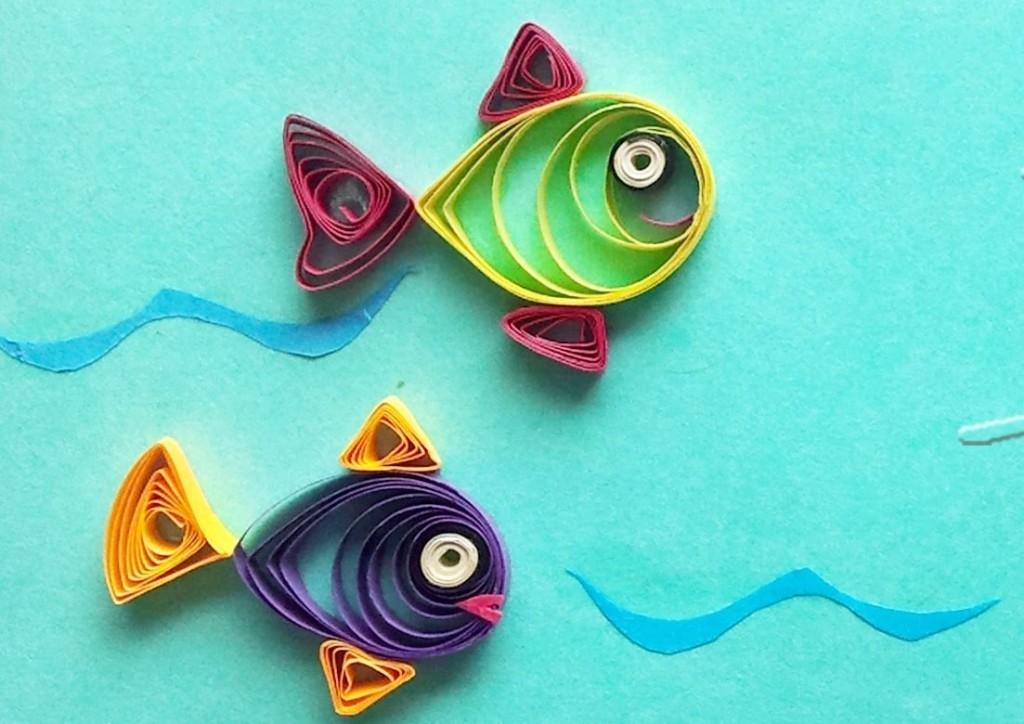 квиллинг рыбки 2