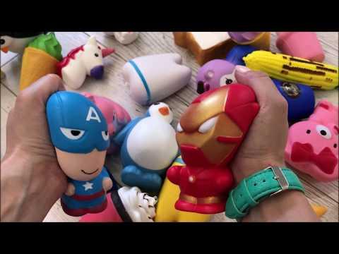 сквиши антистресс игрушки 2
