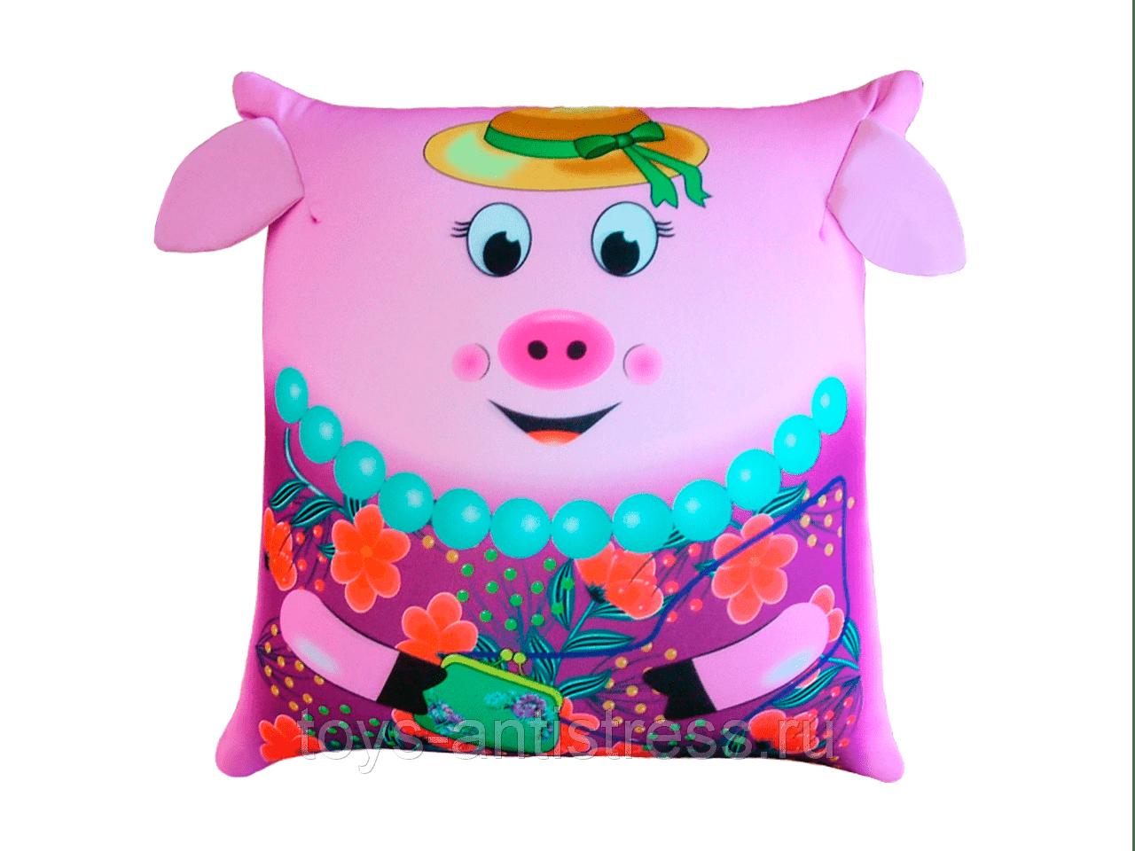 подушка свинка 5