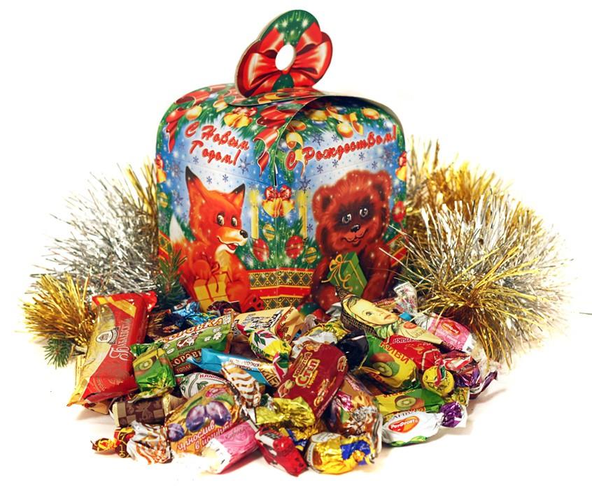 сладости на новый год