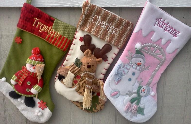 новогодние носки 3