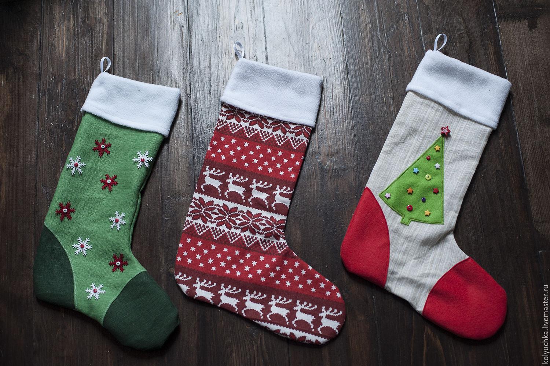 новогодние носки 2