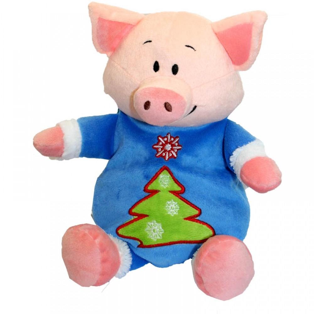 новогодний подарок свинка