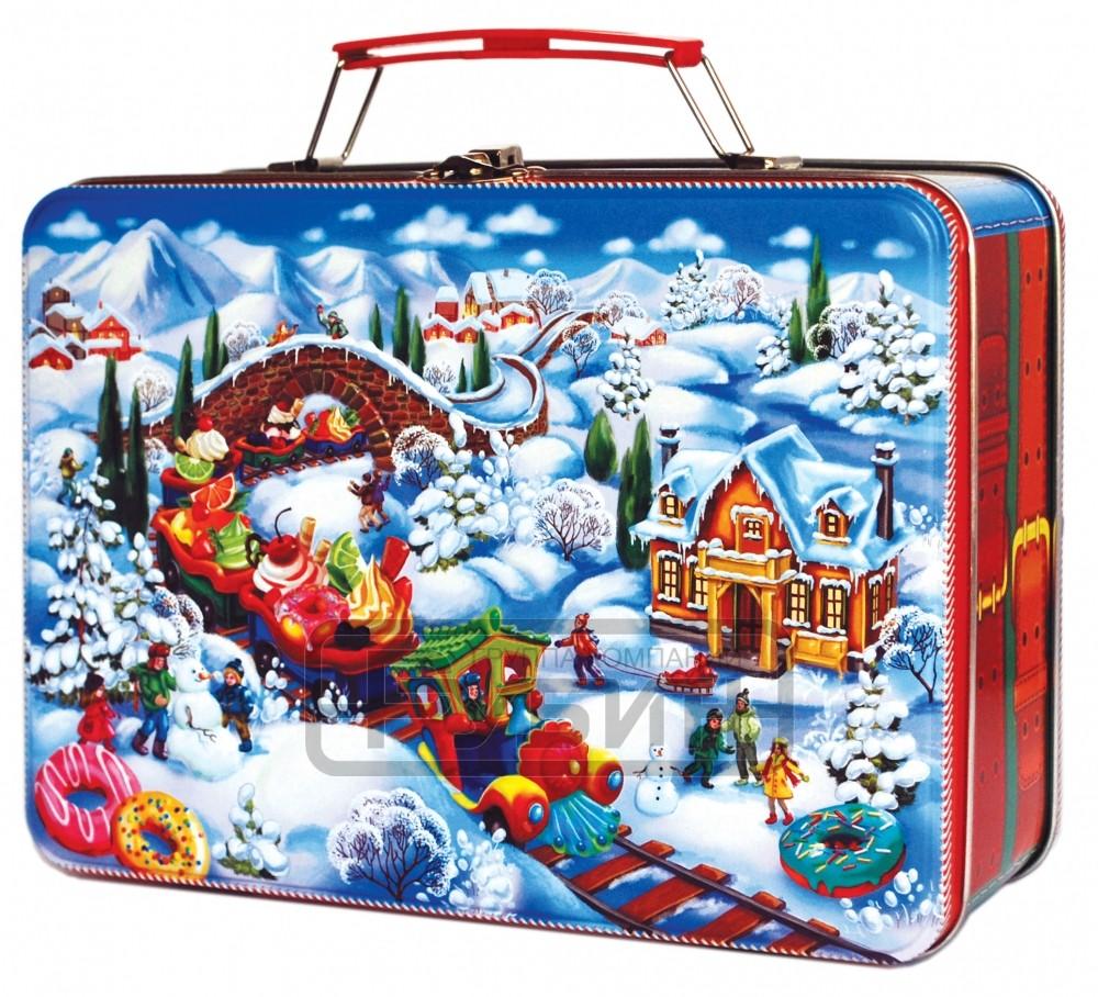 новогодний чемодан
