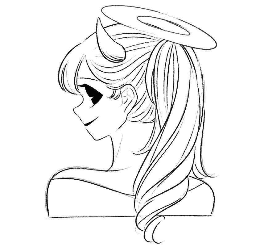 Раскраска Алиса 6