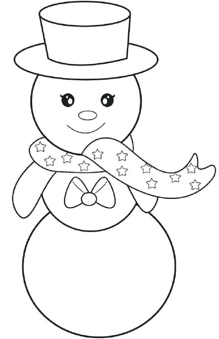 снеговик девочка