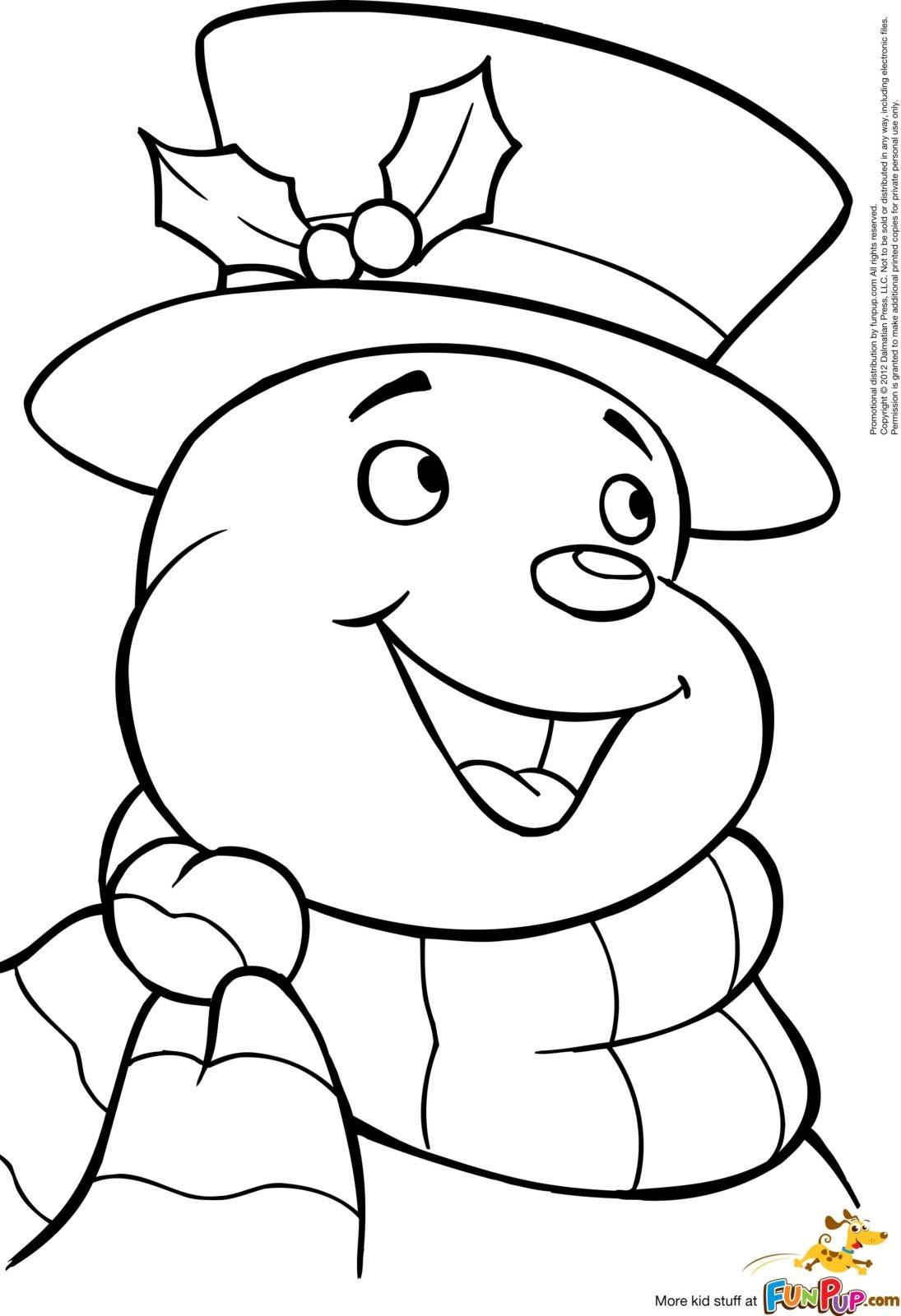 снеговик смеётся