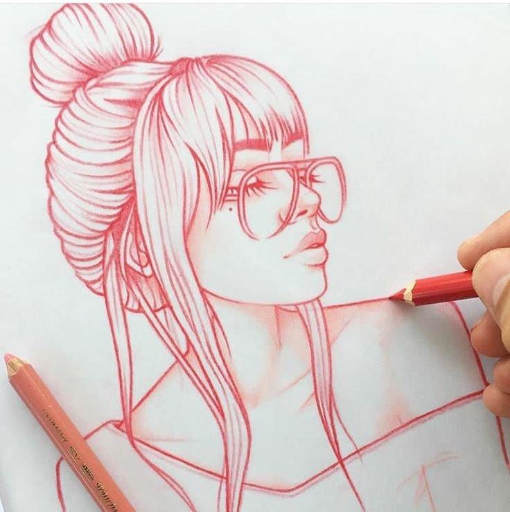 арт девушка 5