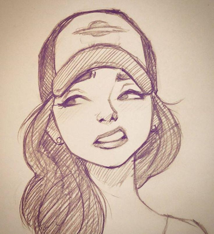 арт девушка 4