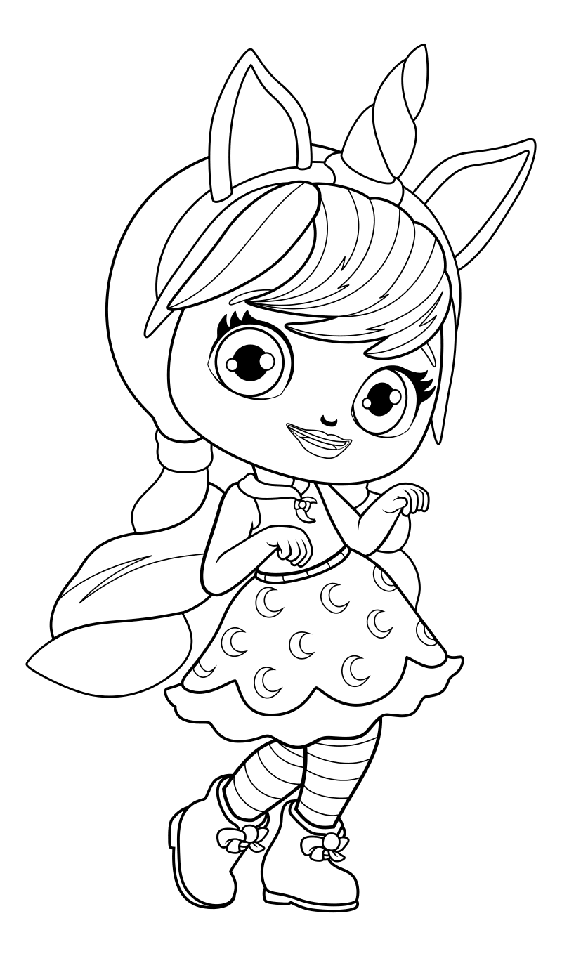 кукла Лол единорог 2