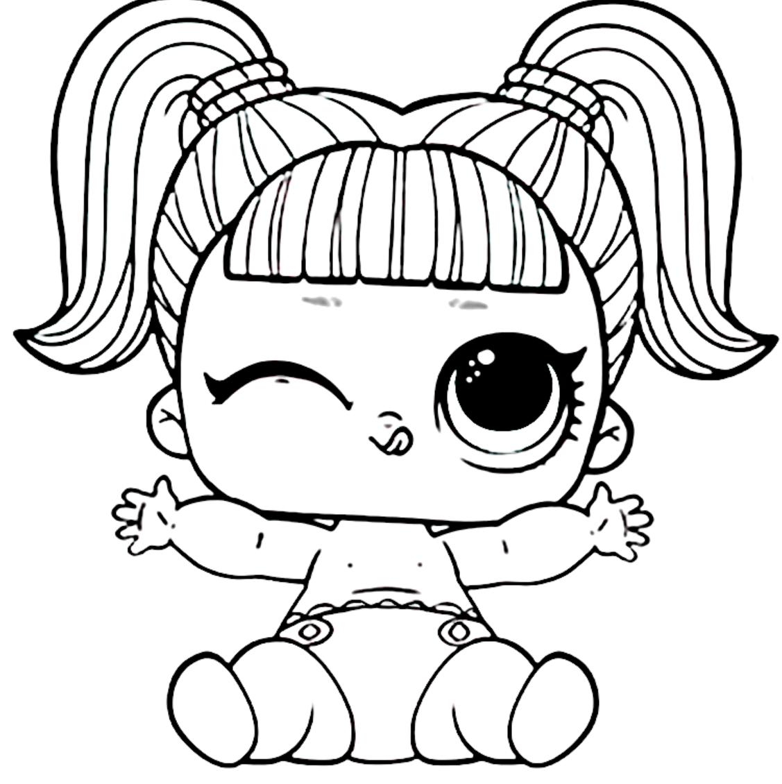 кукла Лол малышка