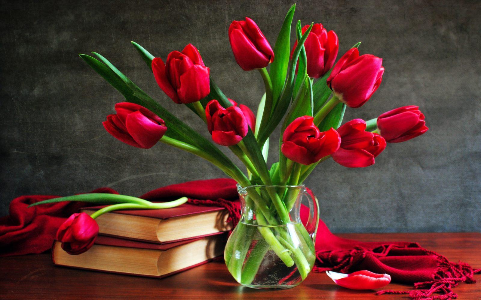 обои цветы 2