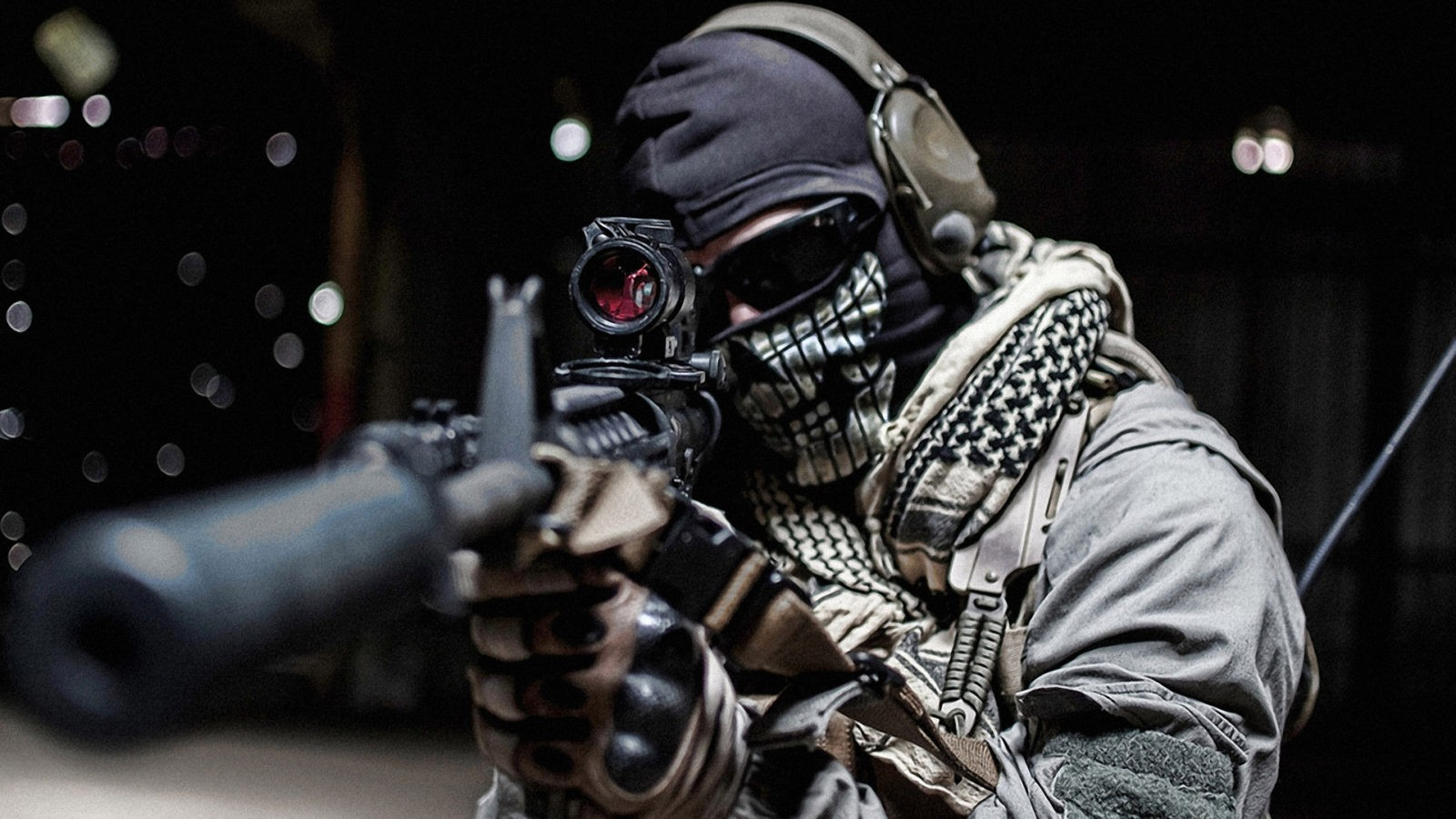 снайпер в маске фото