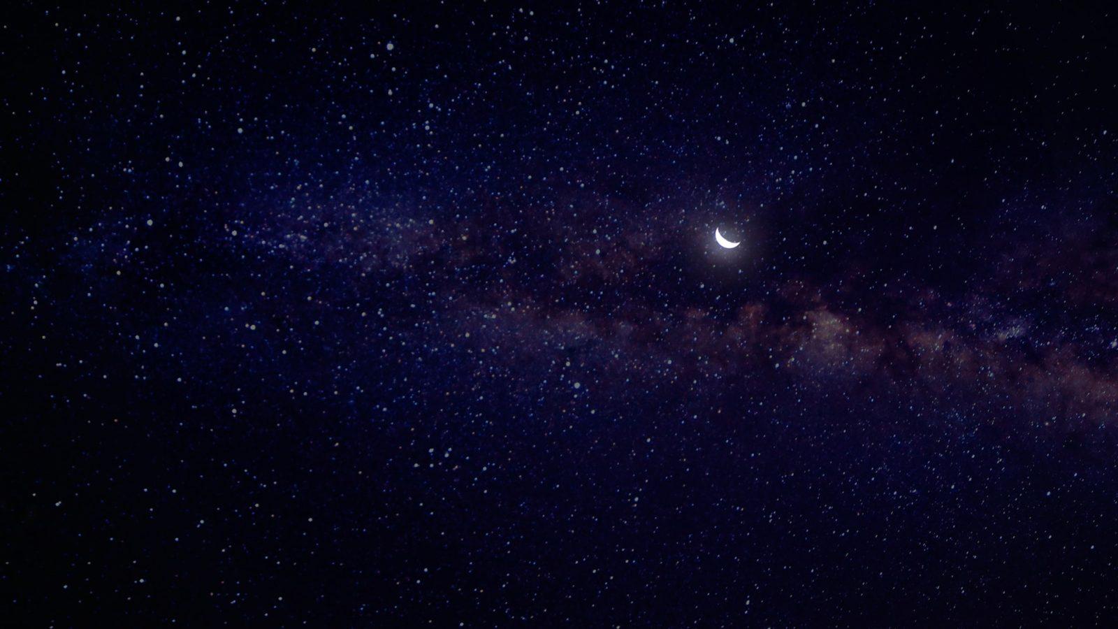 обои звёздное небо 7