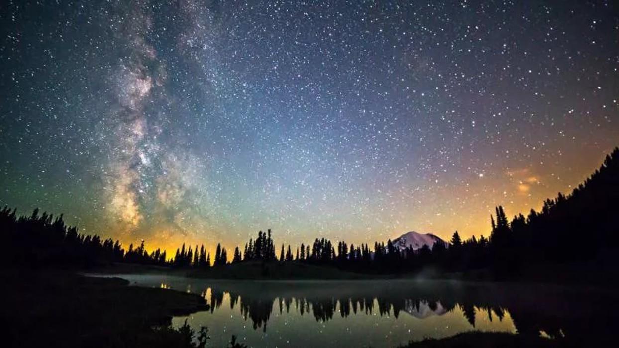 Обои звёздное небо 6