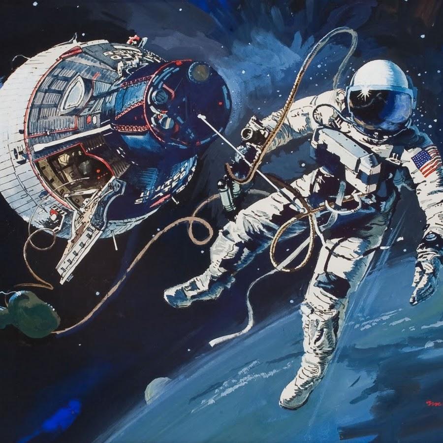 Обои космонавт