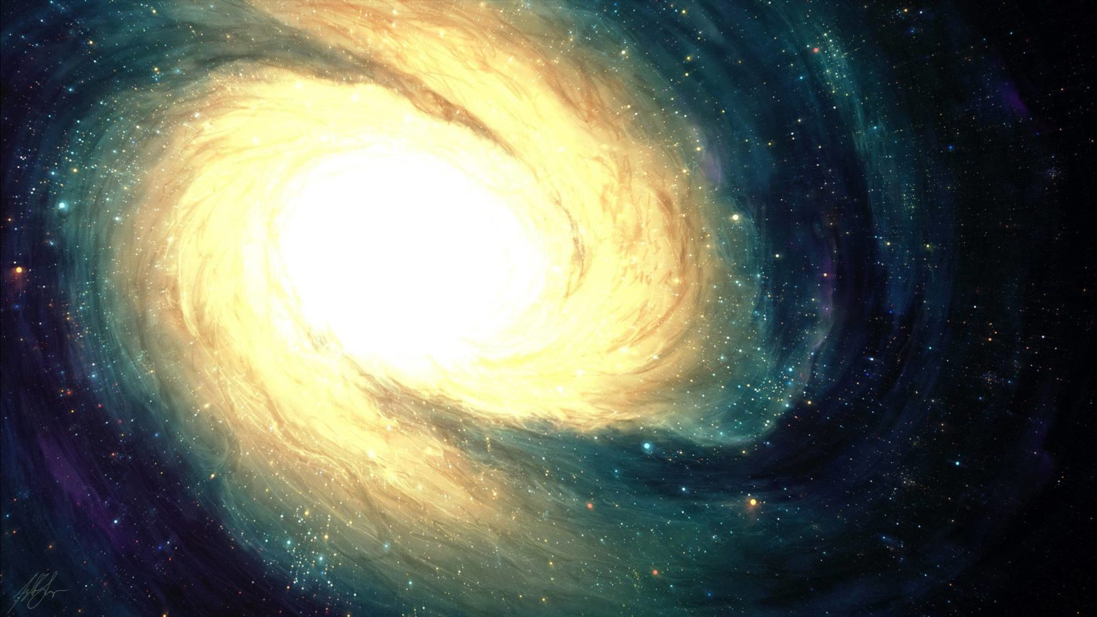 Обои галактика