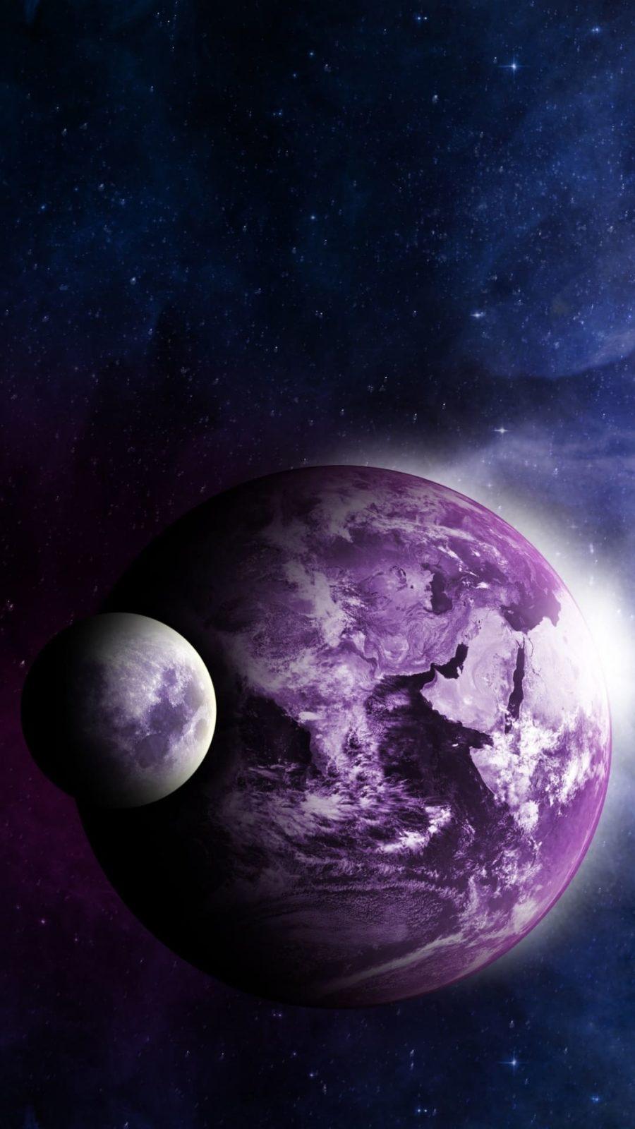 Обои космос на телефон 4
