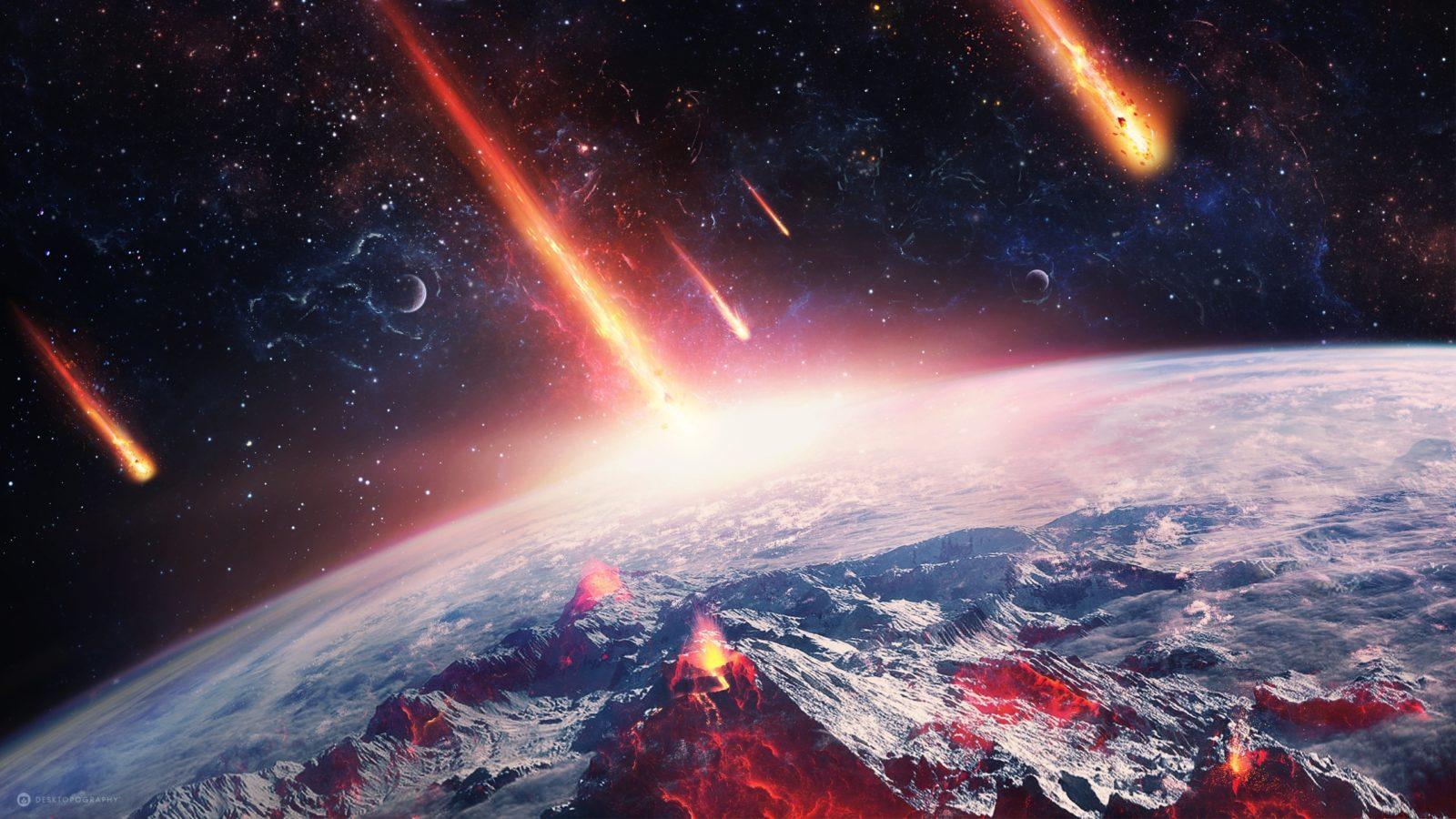 метеоритный дождь фото