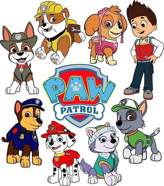 Рисунок щенячий патруль 41