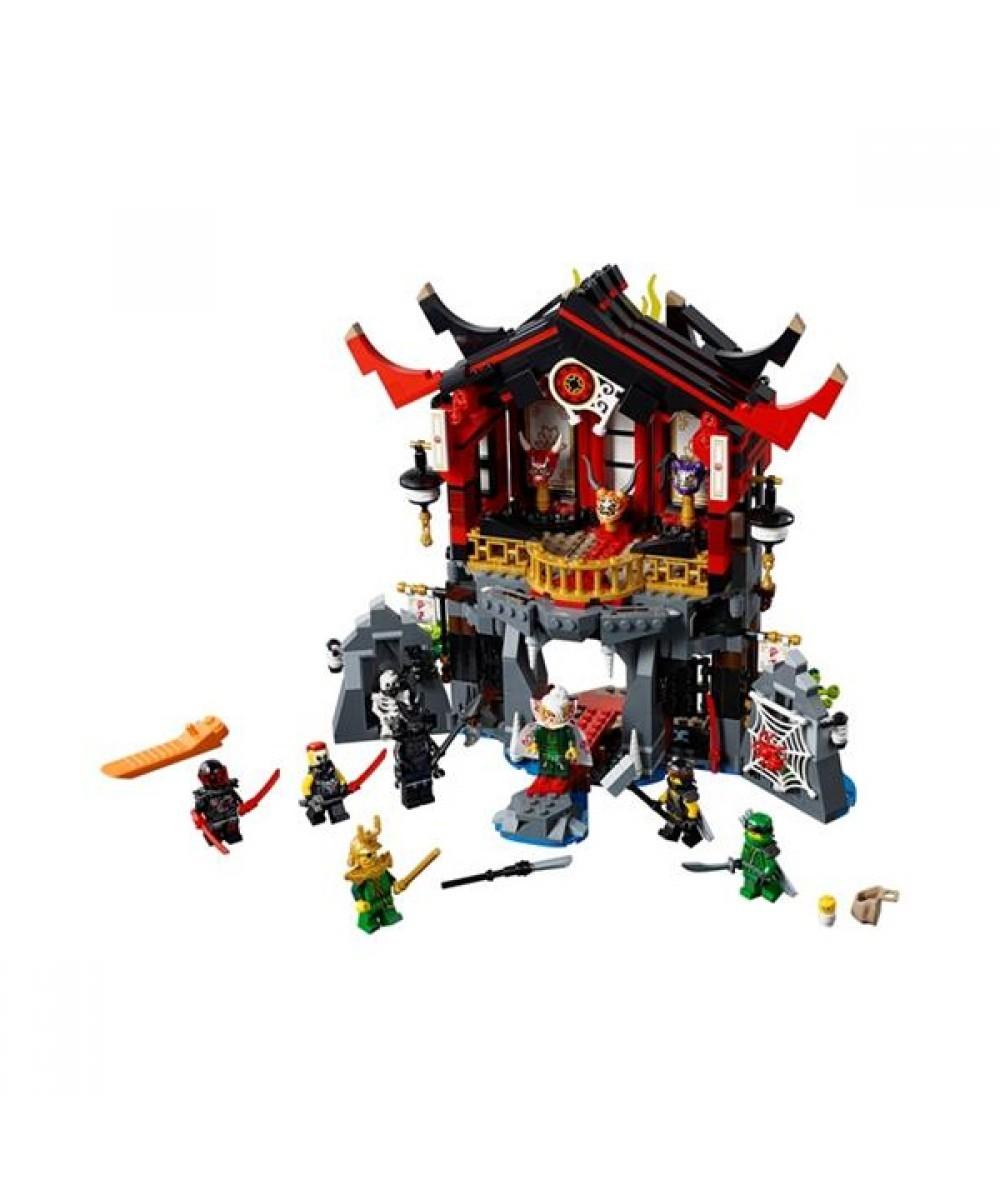 лего нинзяго храм