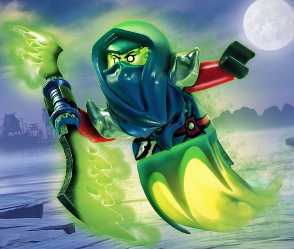 лего ниндзяго призрак 3