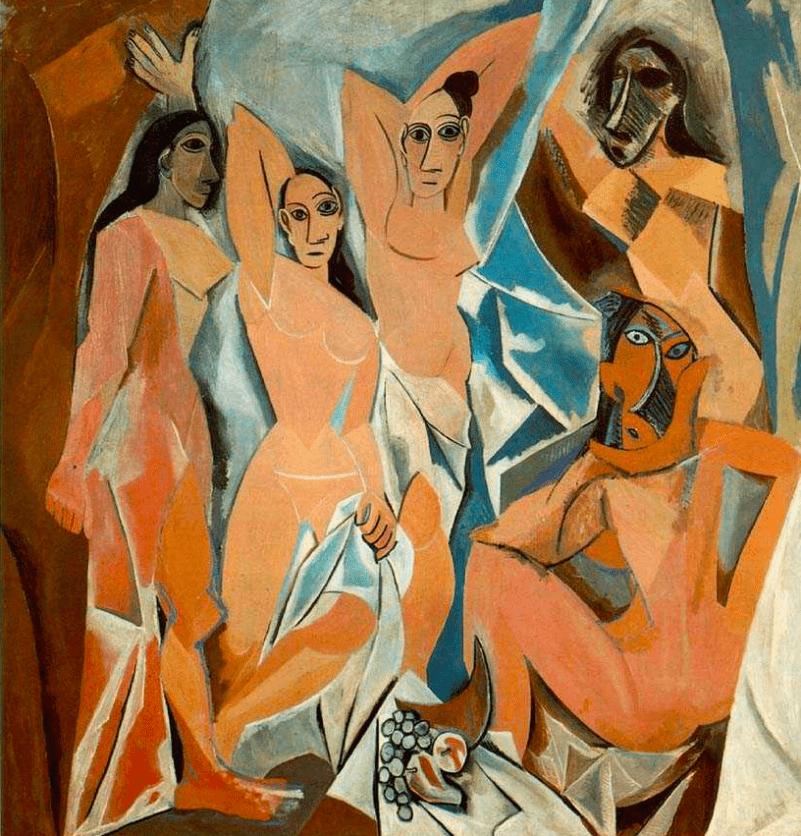 авиньонские девицы Пикассо
