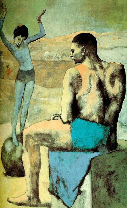 Девочка на шаре Пикассо