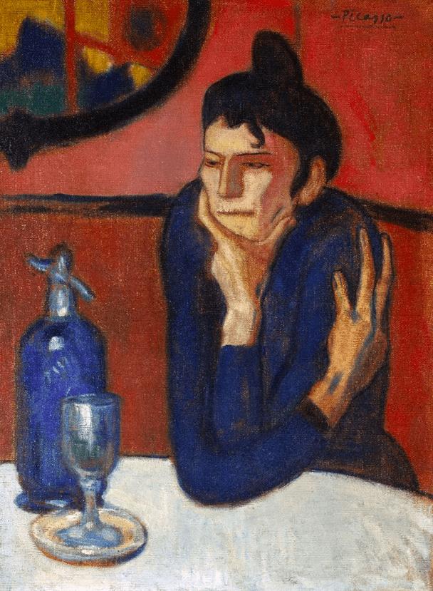 Любительница абсента Пикассо