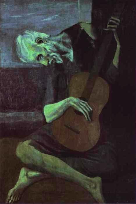 Старый гитарист Пикассо