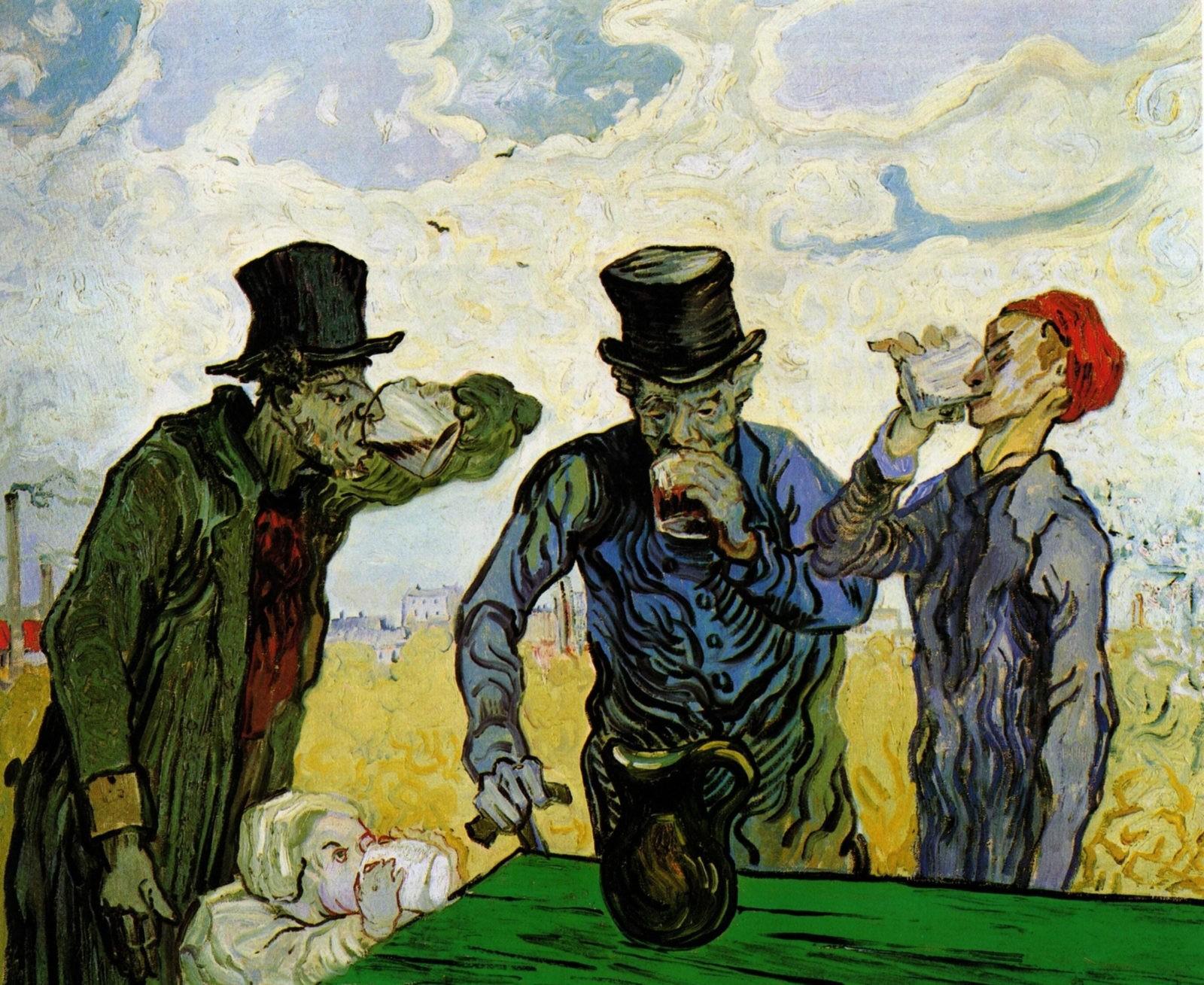 Пьяницы Ван Гог
