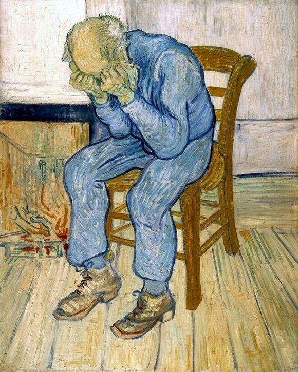 На пороге вечности Ван Гог