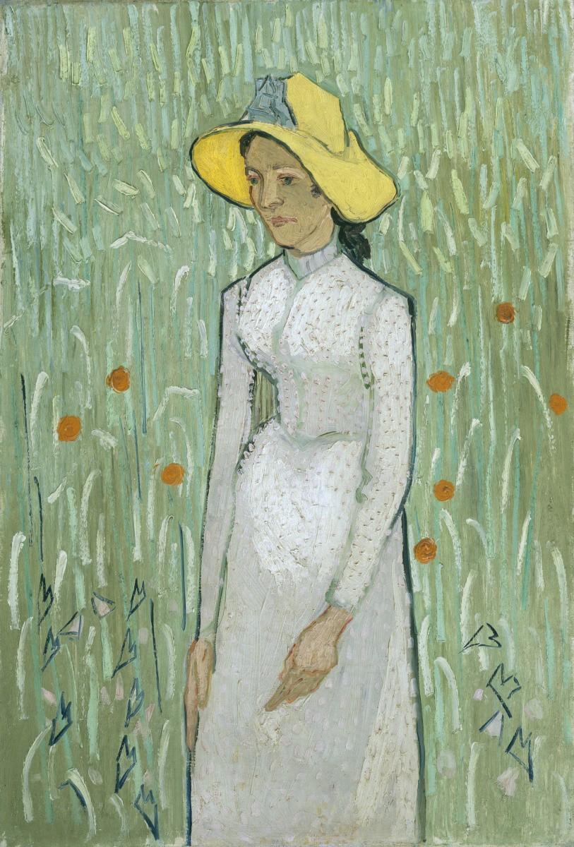 Девушка в белом Ван Гог