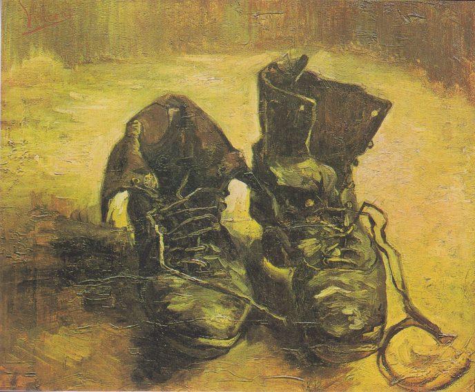 Башмаки Ван Гог