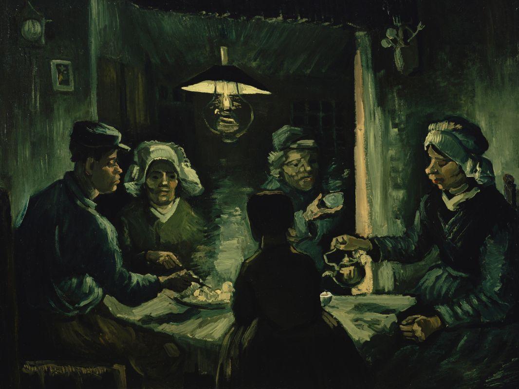 Едоки картофеля Ван Гог