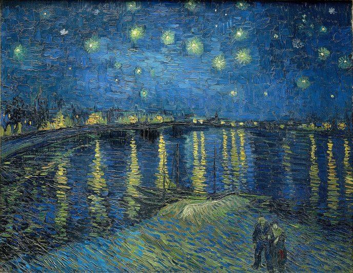 Звёздная ночь над Роной Ван Гог