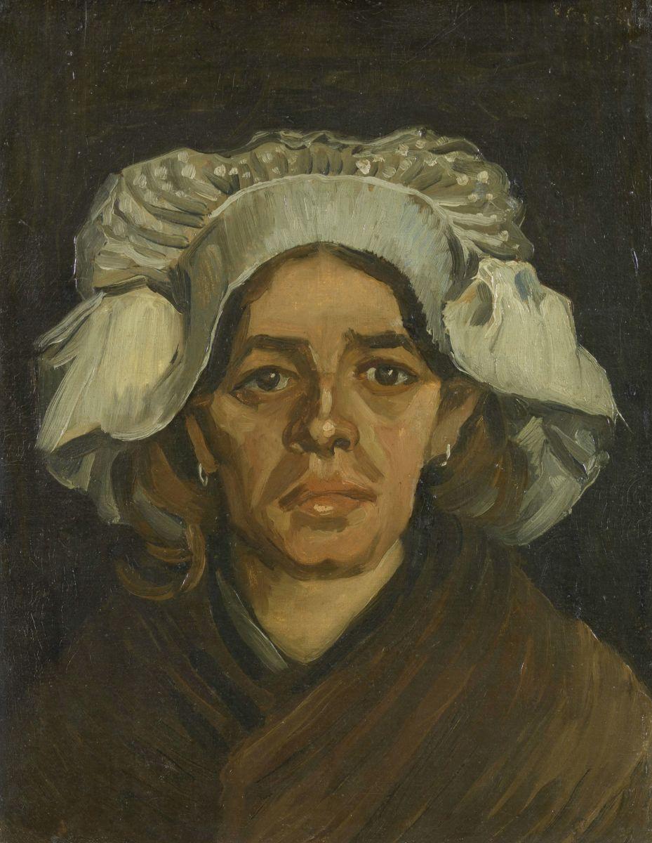 Крестьянка Ван Гог