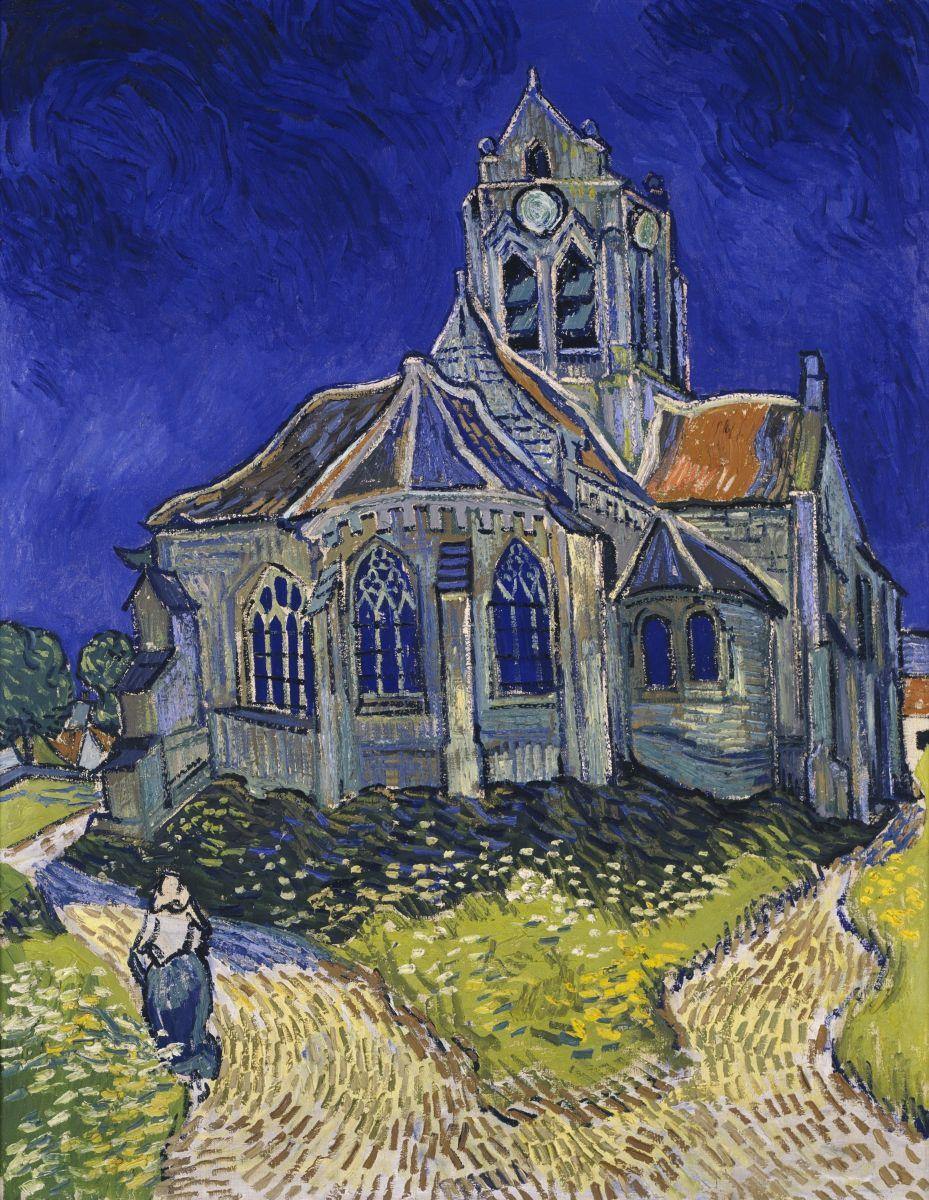Церковь в Овере Ван Гог