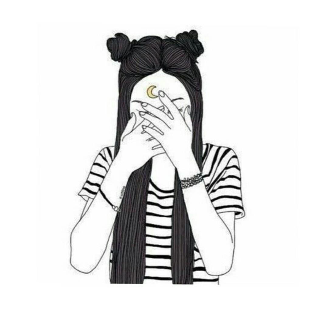 девушка без лица фото 4
