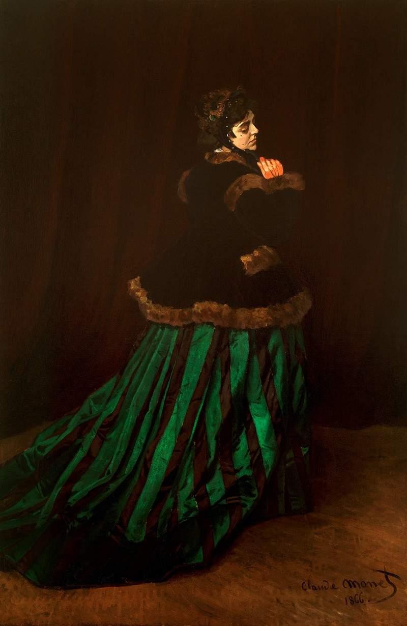 Камилла (Женщина в зелёном)