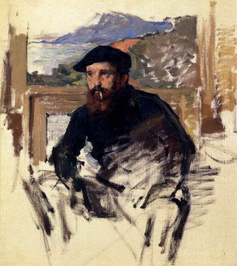 Портрет Моне