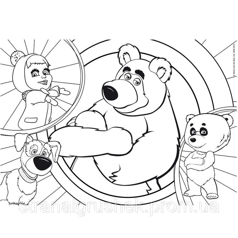 Маша, медведь и панда