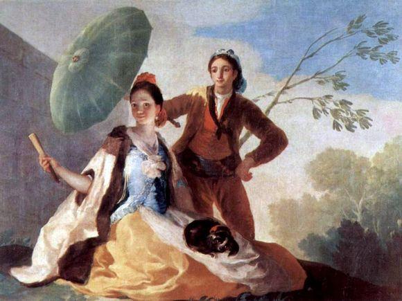 Зонтик Гойя