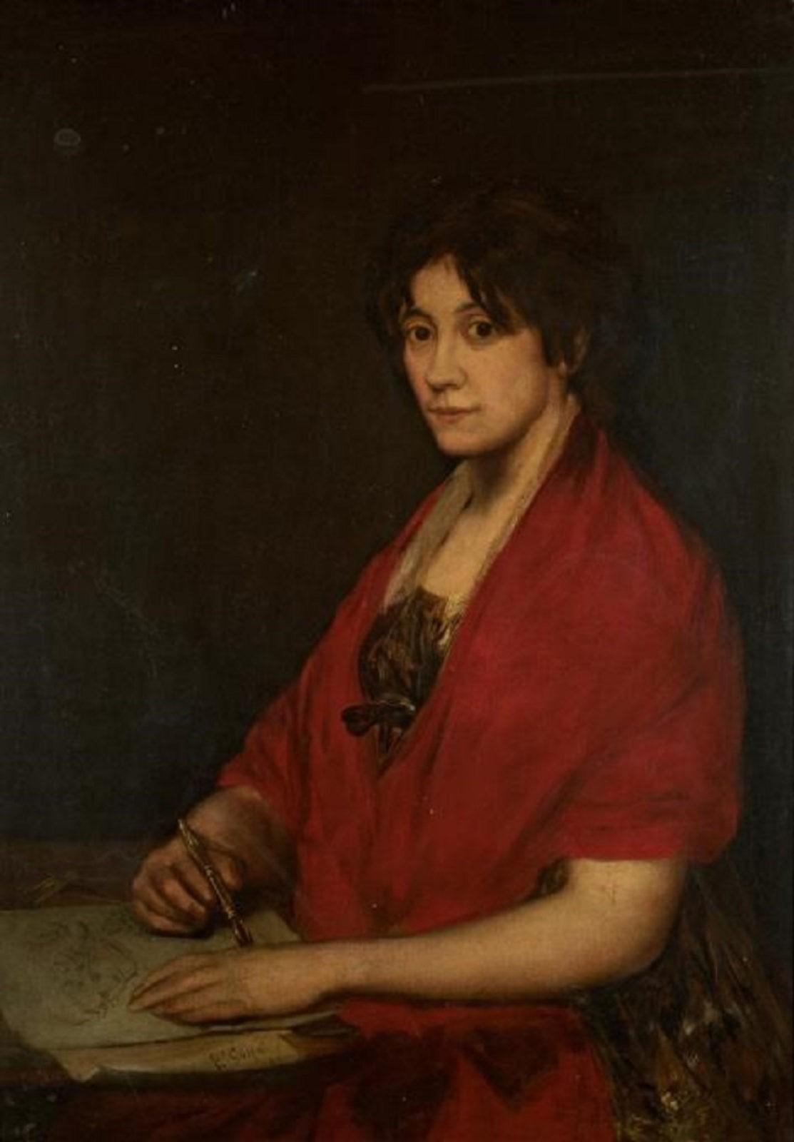 Портрет художницы Лолы Хименес